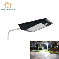 Solar Light 81LED 1000LM Outdoor Body Sensor Landscape Garden Lighting Waterproof Super Bright Integrated Street Lamp