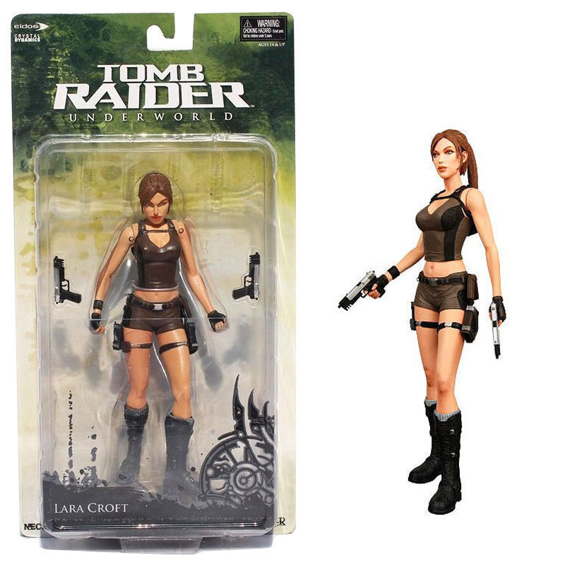 Neca Tomb Raider Underworld Lara Croft Statue Model Action Figure Collection Toy Anime Figure Collectible Model Toy