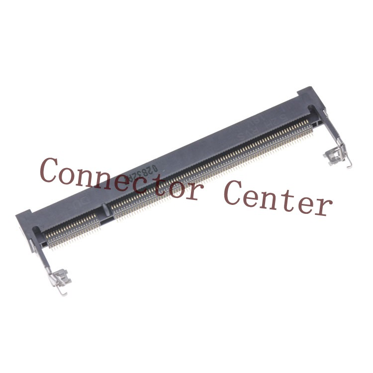 DDR Connector Proconn DDR2 200Pin 1.8V 0.6mm Pitch RVS Type Height 5.2mm  DDR Socket