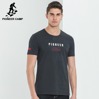 Pioneer Camp New Arrival T Shirt Men Brand Clothing Fashion Letter T Shirt Male Top Quality