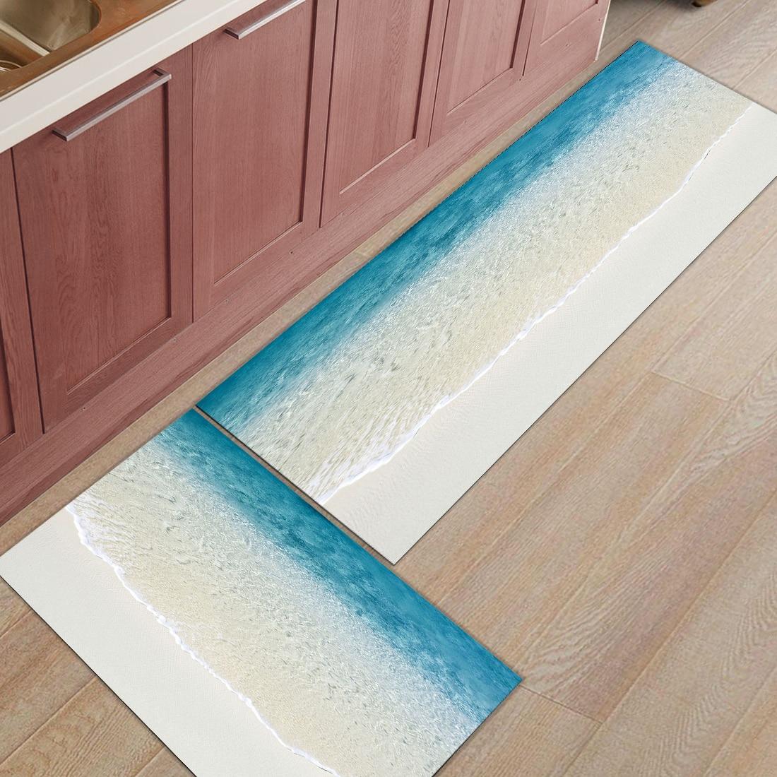 Nordic Style Kitchen Floor Mat Modern Stylish Welcome Door Mat Anti ...