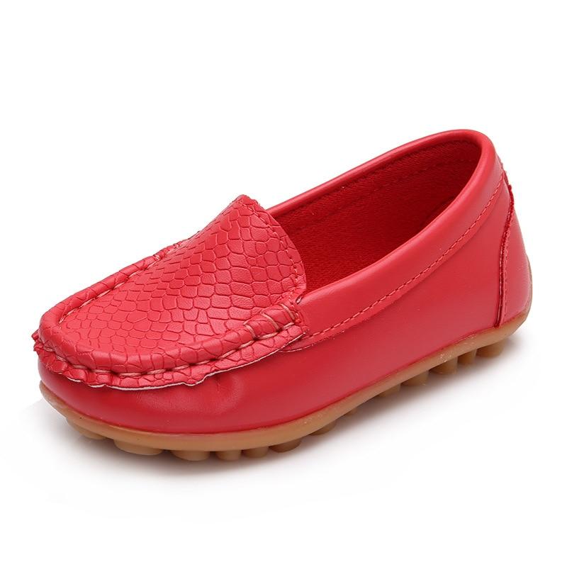 2017 nowych dzieci buty mody slip on skórzane buty chłopiec i - Obuwie dziecięce - Zdjęcie 2