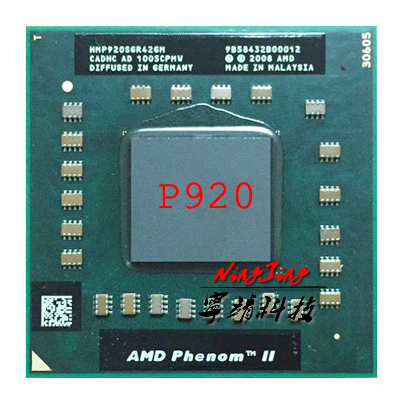 AMD Turion 64 X2 Dual-Core RM77 TMRM77DAM22GG 2.3Ghz Mobile CPU Processor