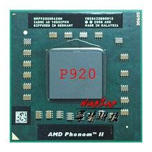 AMD Phenom II Quad-Core Móvel P920 Processador CPU de 1.6 GHz Quad-Core Quad-Thread HMP920SGR42GM Tomada s1