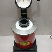Высокотемпературные небольшие плавильные печи, плавильная печь для золота с графитовым тигель 2 кг CE