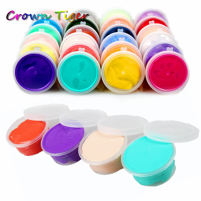20g/box light clay color Slime diy modeling clay Fimo Floam Slime ...