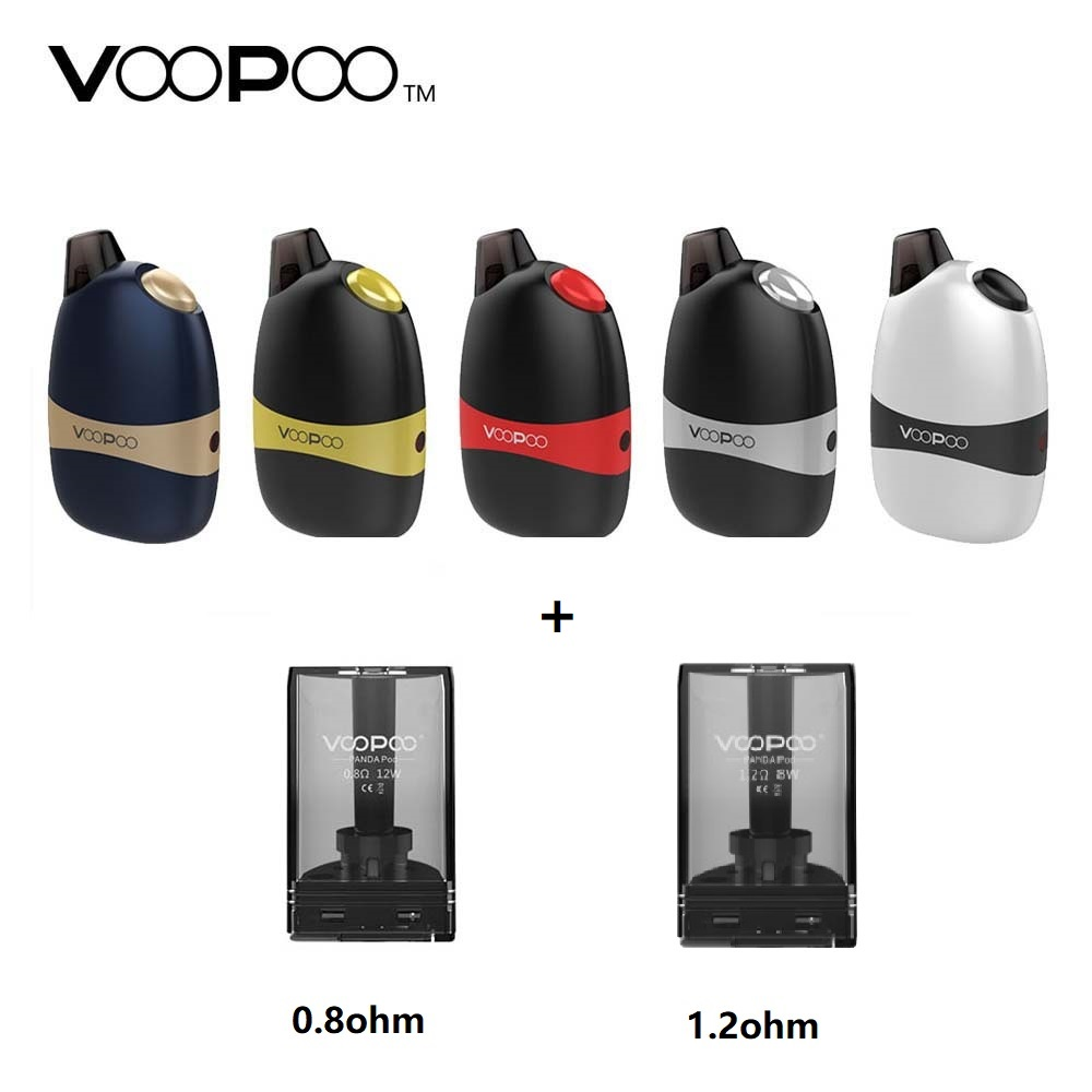Original VOOPOO Panda AIO Pod Kit 1100mAh with 5ml pod Capacity All-In-One Pod System 6 Battery Protections e-cigarette pod kit original teardown pod 6552l to provide boards