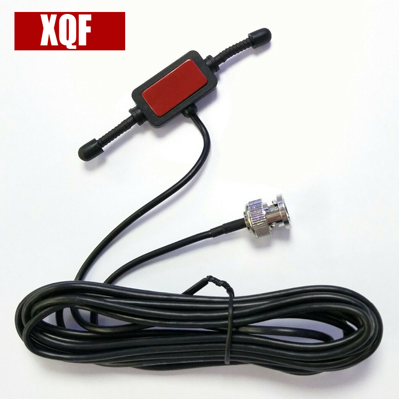 XQF Radioddity Scanner Antenne pour Uniden pour Motorola Deux Radio BNC Verre Montage 4 Mobile Full Band Talkie Walkie Émetteur-Récepteur