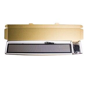 Image 5 - 50 см 16*96Pixe светодиодные знаки P5mm SMD WIFI Беспроводная или USB программируемая прокрутка информационные сообщения рекламная панель