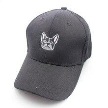 Hot Embroidery Cute Dog Cartoon Cotton Kpop Hats Dad Hat Men Women Baseball Cap Dancing Sport Adjustable Hip hop Snapback Cap цена