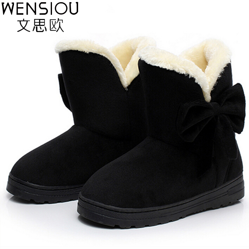 Brand Women Boots Thicken Warm Winter Ladies Snow Boot Women Shoes Woman Fur Ankle Boots Chaussure Femme Botas Mujer 2017 SVT905 fashion women snow ankle boots fur bota femininas zapatos mujer botines botte chaussure femme botas winter woman shoes flat heel