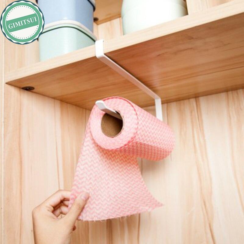 Kitchen Paper Hanger Sink Roll Towel Holder Organizer Rack