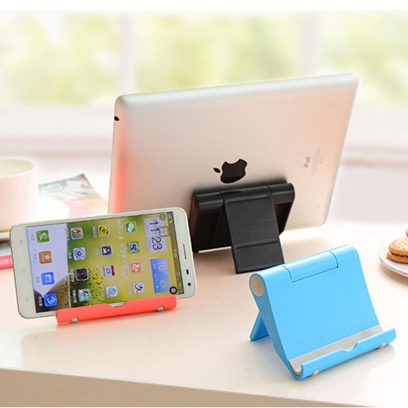 Universell skrivbordstelefonhållare för mobiltelefon hopfällbar - Reservdelar och tillbehör för mobiltelefoner - Foto 2