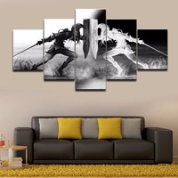 Wall Art Vikings Pictures Home Decor 5 Pieces Legend Of Zelda Canvas Painting Living Room HD