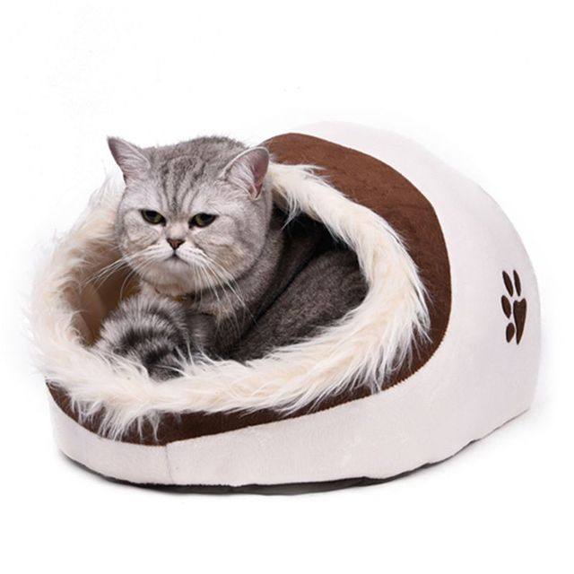 5 Styles Dog Cat Bed Pet Kennel With Hair Warm Soft In Winter Animal Sweet House For Puppy High Quality Pet Product Wholesale