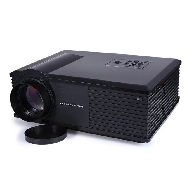 Hot Selling PH580 LCD 3200 Lumens 2000:1 Contrast Portable LED Projector With HDMI USB TV AV VGA US EU Plug