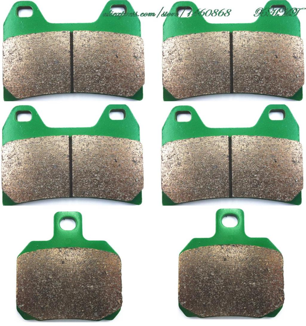 Brake Pads Set For Benelli 2 Ue 750 2009 2010 / 900 Tornado 2000 & Up/ Tornado Naked Tre 899 & S 2007 2008 2009 2010 2011
