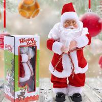 Christmas Santa Claus Active Dancing Toy With Sound Function Kids Home Toy Xmas Gift Decorations Crafts