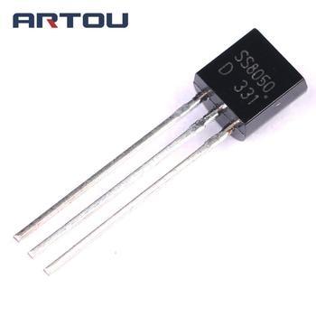 20PCS SS8050D S8050 8050 TO-92 NPN Transistor 20pcs lm2575t adj to 220 lm2575t