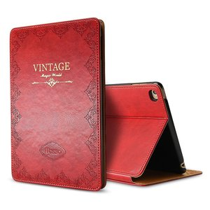 Image 2 - for iPad Air 1 Air 2 9.7 5th 2017 6th 2018 Case Luxury Vintage PU Leather Smart Cover Fashion Business Stand Holder Book