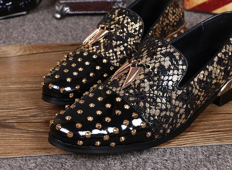 Más On as Mens As Últimas Zapatos Tamaño Patchwork Alpargatas Slip Homme Flor plata Oro Imprimir Pic Pic Ventas Chaussure Mocassin xFwnw0vSqU