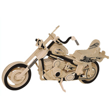 3d three-dimensional wooden animal Aircraft Car jigsaw puzzle toys for children diy handmade wooden jigsaw puzzles