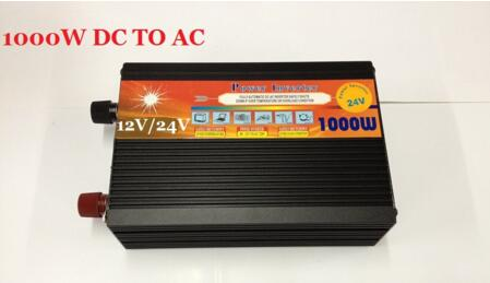 цена на peak power 2000W power inverter rated power 1000W Modified Sine Wave 12v/24v DC input to 220v AC output Power Inverter