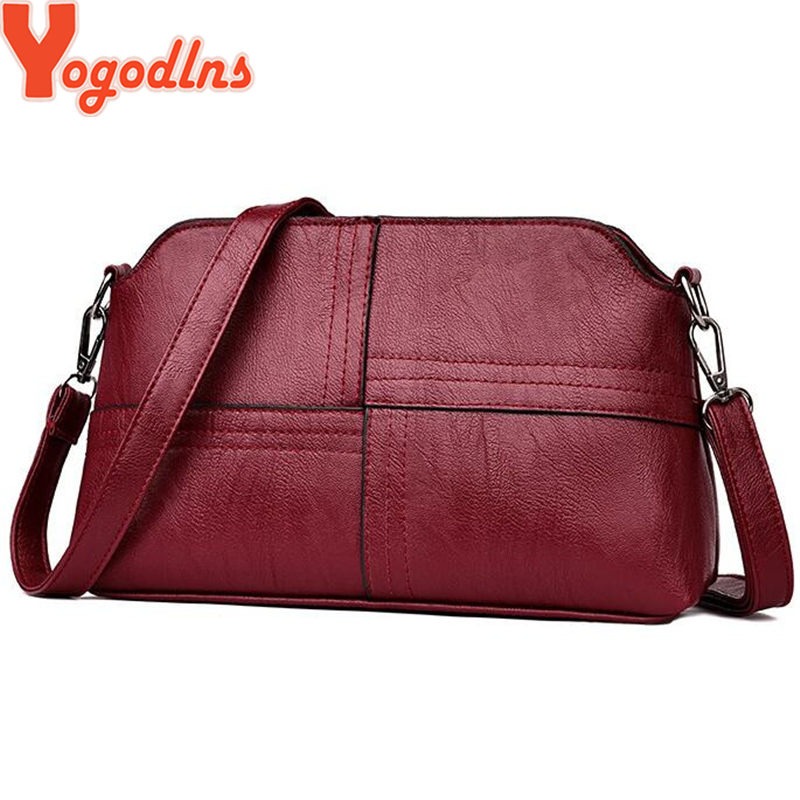 Yogodlns Casual PU Leather Women Crossbody Bag Shoulder Messenger Bags For Female Mother Small Phone Purse Bags Hiqh QualityYogodlns Casual PU Leather Women Crossbody Bag Shoulder Messenger Bags For Female Mother Small Phone Purse Bags Hiqh Quality