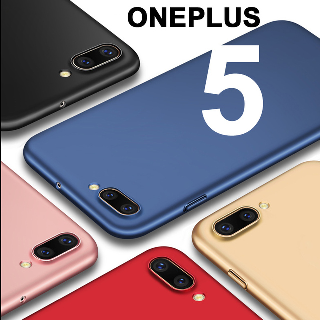 save off 741ce 9e843 US $4.99 |Oneplus5 case Plastic Protective back cover One plus 5 Five case  full body cover ultra thin case for oneplus 5 Five Phone case-in ...