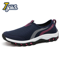 Spring And Summer Breathable Net Cloth Shoes Casual Shoes One Foot Net Shoes Outdoor Sports Net