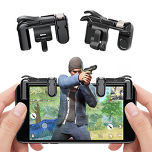 Mobile Game Fire Button Aim Key Smart phone Trigger L1R1 Shooter Controller for PUBG Knives Out Gaming Accessory