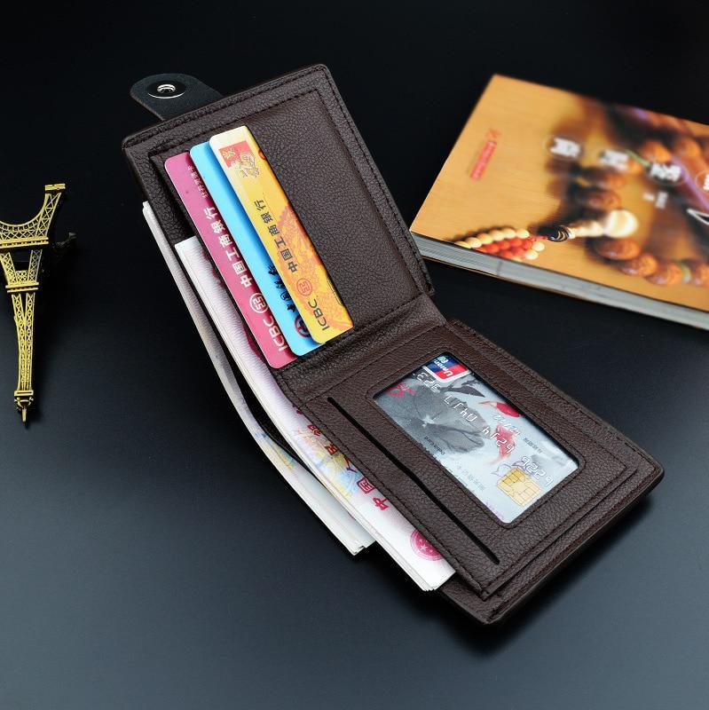 Hot Sale Men's Wallet Fashion Pu Leather Men Wallets Luxury 1