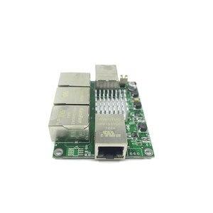 Image 2 - Industrial grade mini micro low power 3/4/5 port 10/100/1000Mbps RJ45 Gigabit network switch module gigabit   network switch