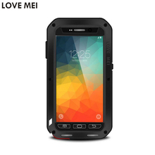 For Samsung Galaxy Note 5 Note5 N920 5 7 Waterproof Shockproof Case LOVE MEI Powerful Gorilla