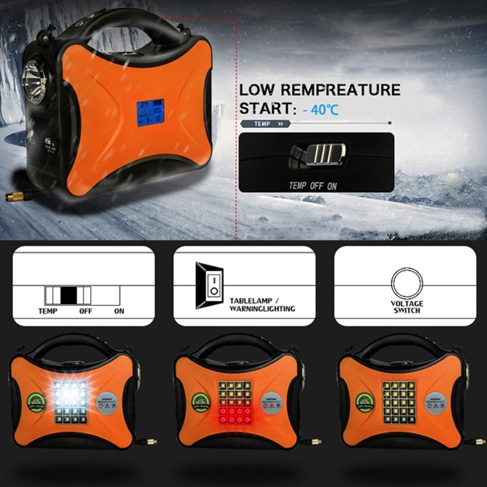 36000 мАч большой Ёмкость автомобиля Зарядное устройство пусковое устройство Запасные Аккумуляторы для телефонов Booster чрезвычайных Батарея Quick Starter Питание