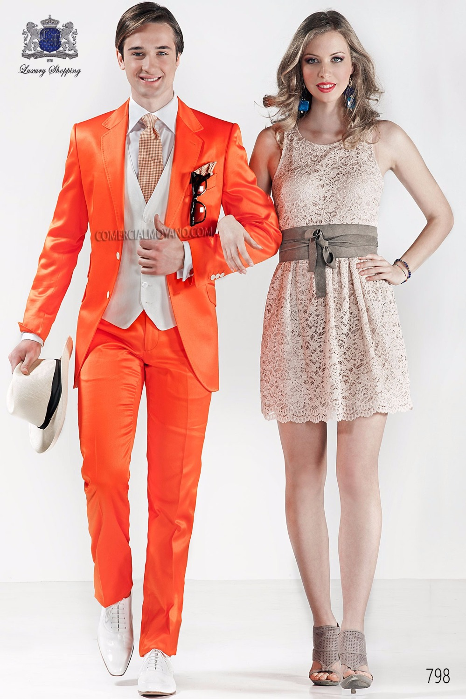 Orange Prom Suits Promotion-Shop for Promotional Orange Prom Suits ...