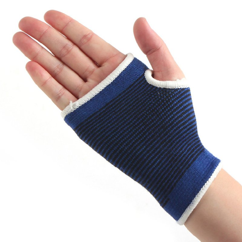 1 Pair Wrist Hand Support Glove Weightlifting Protect Palm Elastic Brace Sleeve Sports Bandage Gym Wrap