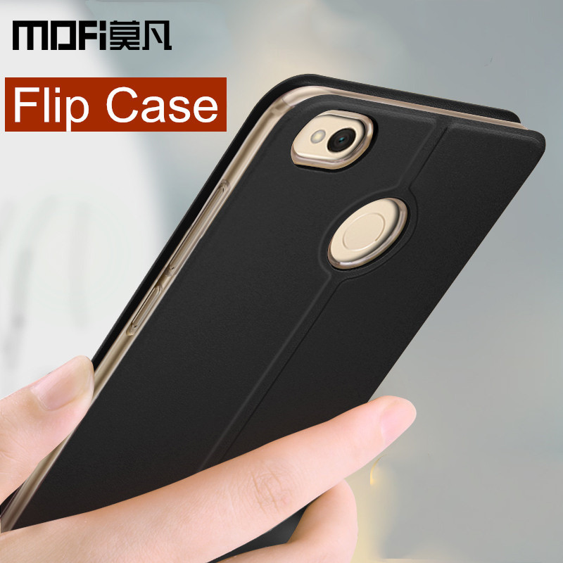 Xiaomi redmi note 5A pro case cover note 5A prime flip cover leather back silicone case MOFi original global redmi note 5A case