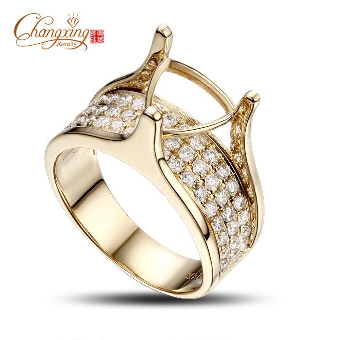 8.5mm Trillion Cut 0.91CT Full Cut Diamond Solid 14ct Gold Engagement Mens Ring