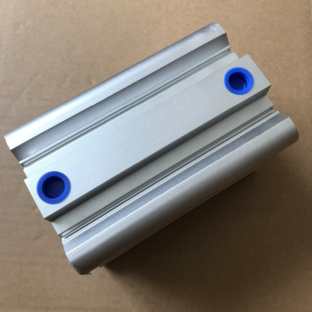 bore 63mm x70mm stroke SMC compact CQ2B Series Compact Aluminum Alloy Pneumatic Cylinder fashion easy matched stripe pattern shirt