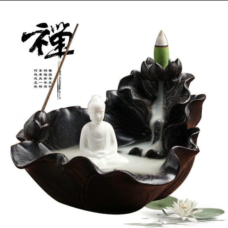 Brûleur d'encens en céramique retour Zen parfum encens thé cérémonie maison salon aromathérapie four
