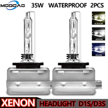 1Pair Xenon Car Headlight D1S D1C 35W HID Bulbs D3S D3C Metal Bracket Protection for Car Head Lamp 4300K 6000K 8000K Universal цена в Москве и Питере