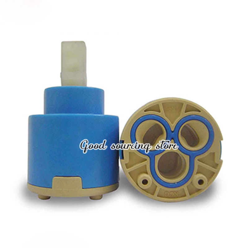 High Quality 40mm 35mm Hot And Cold Water Replacement Faucet Cartridge In Fau