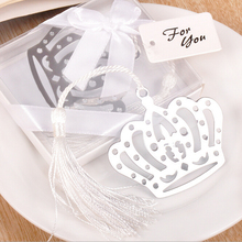 Metal Bookmark with Tassel Book Markers Wedding Souvenirs Baby Shower Party Favors with   Gifts Box Packaging 23 Designs