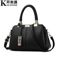 купить 100% Genuine leather Women handbags 2019 New tide female bag Crossbody Bag shaped sweet lady Shoulder Handbag по цене 1561.85 рублей