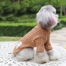 Dog Sweater For Small Dogs Jersey Dog Knitted Sweaters Winter Warm Clothes Puppy Dog Cat Clothing Knitwear Sweaters For Dogs 856