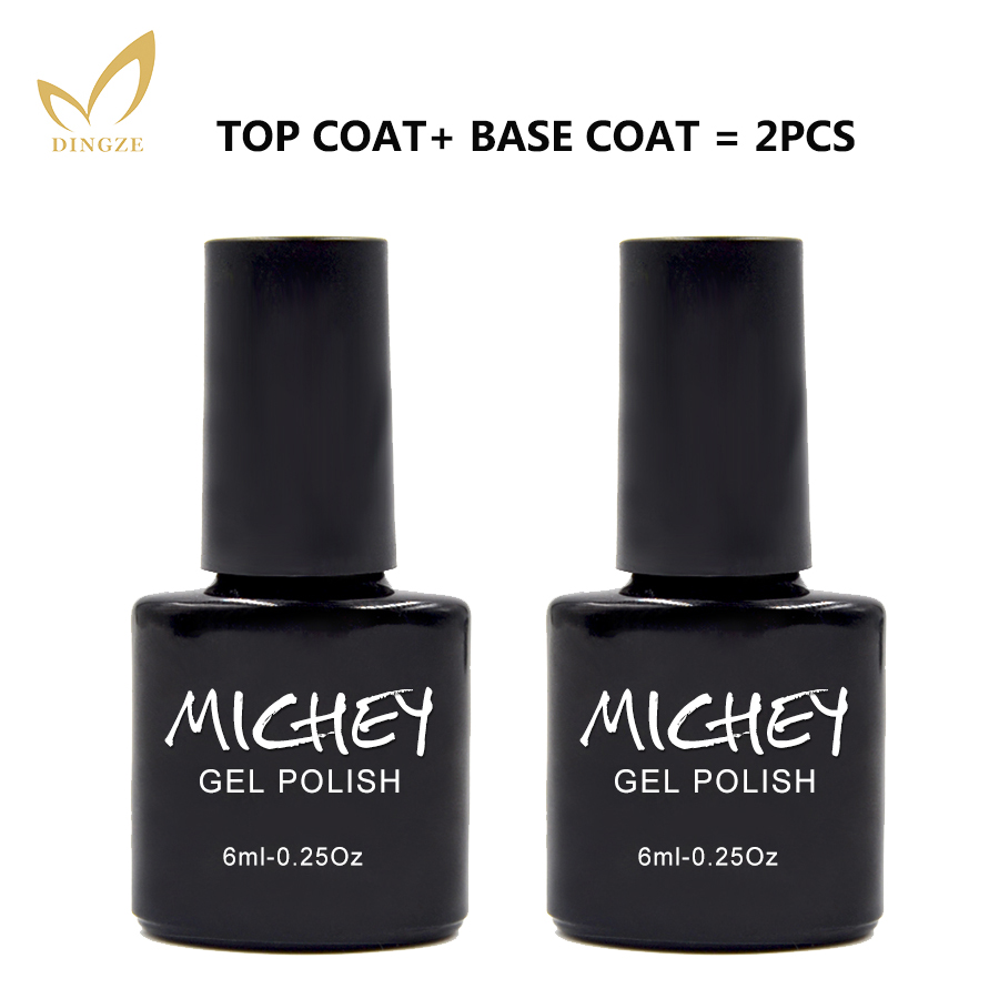 michey eco friendly transparent clear nail primer vernis semi permanent base gel top coat soak. Black Bedroom Furniture Sets. Home Design Ideas