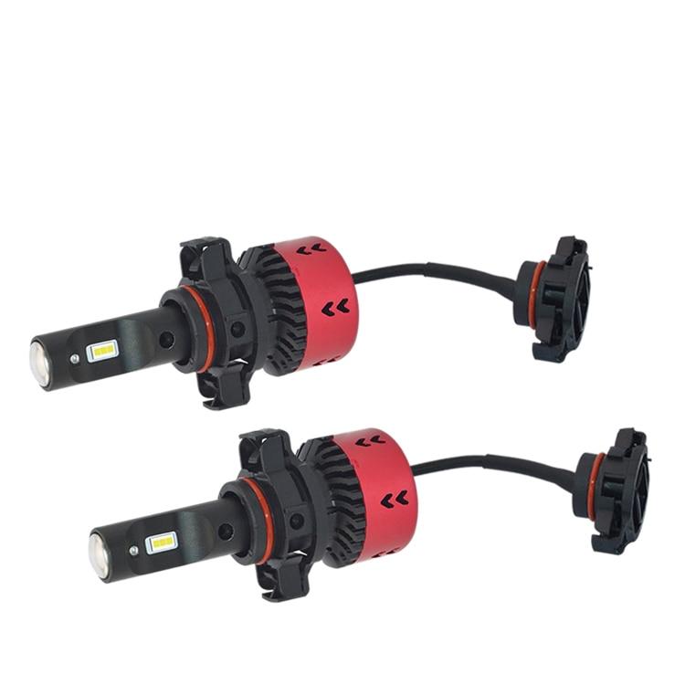 2 Year Warranty! High Quality H16(EU) 5202 V6 LED Car Headlight Fog DRL Bulbs 70W 9600LM All-in-one EMC FLIP Chip White 6000K