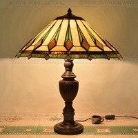 56CM Tiffany Art Glass Living Room Restaurant Bar Restaurant Club Room Lobby Room Large Desk Lamp