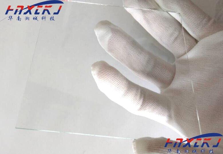 10 шт. электро-стеклянная подложка/натрий кальций стекло 20*20*1,1 мм Солнечная электрохимическая фотоэлектричество для лабораторного использо...